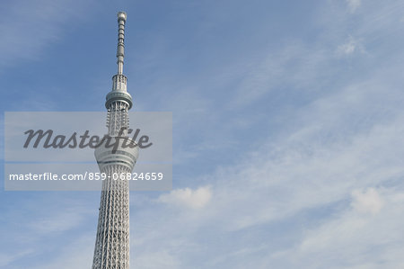 Tokyo Sky Tree Stock Photo - Rights-Managed, Image code: 859-06824659
