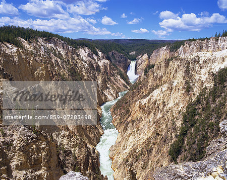 Yellowstone National Park, America Stock Photo - Rights-Managed, Image code: 859-07283498