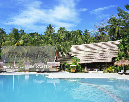 Pearl Farm Beach Resort, Philippine Stock Photo - Rights-Managed, Image code: 859-07283509