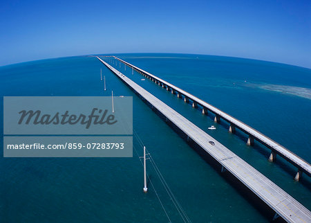 Seven mile Bridge, America Stock Photo - Rights-Managed, Image code: 859-07283793