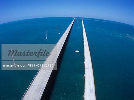 Seven mile Bridge, America Stock Photo - Rights-Managed, Image code: 859-07283796
