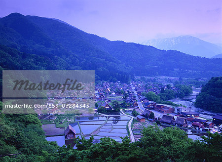 Shirakawa, Gifu, Japan Stock Photo - Rights-Managed, Image code: 859-07284343