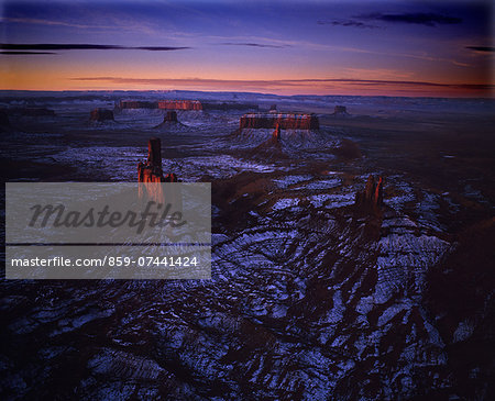 Monument Valley, Utah, USA Stock Photo - Rights-Managed, Image code: 859-07441424