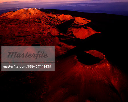 Mauna Kea Volcano, Hawaii, USA Stock Photo - Rights-Managed, Image code: 859-07441439