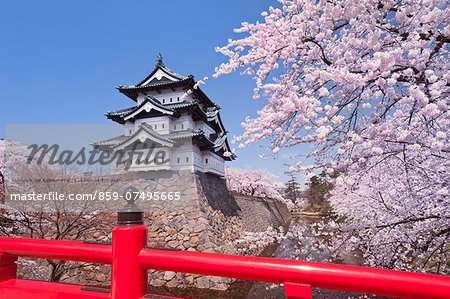 Hirosaki Castle Stock Photo - Rights-Managed, Image code: 859-07495665