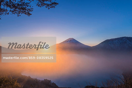 Yamanashi Prefecture, Japan Stock Photo - Rights-Managed, Image code: 859-08359525