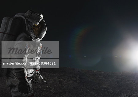 CG astronaut Stock Photo - Rights-Managed, Image code: 859-08384621