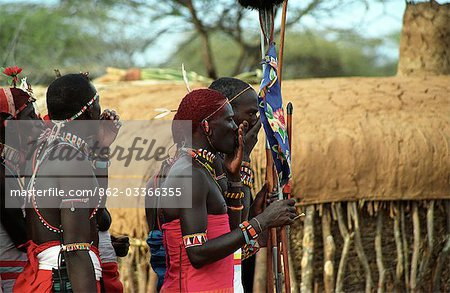 Laikipiak Maasai Stock Photo - Rights-Managed, Image code: 862-03366355