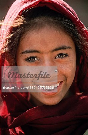 Indian girl, State of Rajasthan, India Stock Photo - Rights-Managed, Image code: 862-03712106