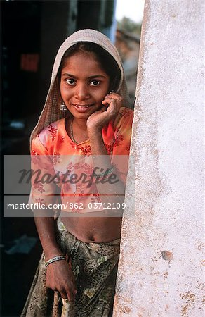 Indian girl, State of Rajasthan, India Stock Photo - Rights-Managed, Image code: 862-03712109