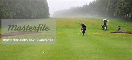 Terceira Golf Course, Azores islands, Portugal Stock Photo - Rights-Managed, Image code: 862-03889243