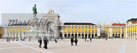 Terreiro do Paco, Lisbon, Portugal Stock Photo - Rights-Managed, Image code: 862-03889342