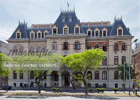 The imposing headquarters of the Ministry of Agriculture, Ganaderia in Buenos Aires. Stock Photo - Rights-Managed, Image code: 862-05996671