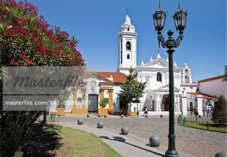 The church of Nuestra Senora del Pilar at Recoleta. Buenos Aires, Argentina Stock Photo - Rights-Managed, Image code: 862-05996677