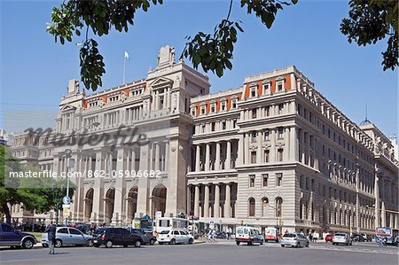 The Supreme Court, Palacio de Tribunales, beside Plaza Lavalle. The cornerstone of this Greco-Roman architectural style building was laid in 1904. Stock Photo - Rights-Managed, Image code: 862-05996682