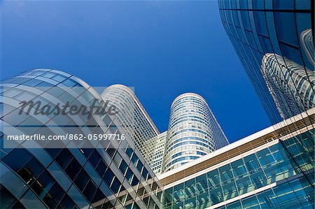Coeur Tower at La Defense, Paris, Ile de France, France, Europe Stock Photo - Rights-Managed, Image code: 862-05997716