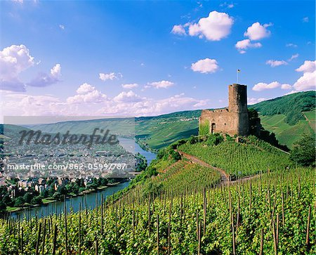 Germany, Rhineland-Palatinate, Landshut casle Stock Photo - Rights-Managed, Image code: 862-05997787