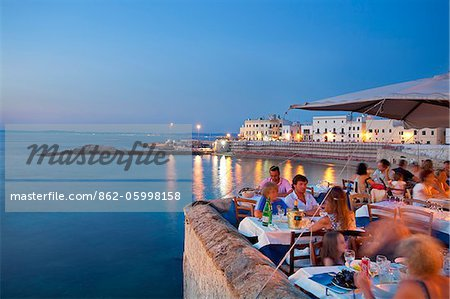 Italy, Puglia, Lecce district, Salentine Peninsula, Salento, Santa Gallipoli Stock Photo - Rights-Managed, Image code: 862-05998158