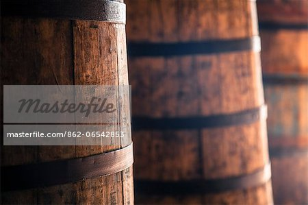 Wine cellar in La Rioja, Spain, Europe Stock Photo - Rights-Managed, Image code: 862-06542853