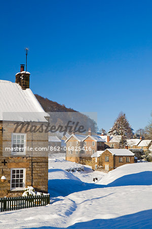 United Kingdom, England, North Yorkshire, Hutton-Le-Hole. A picturesque and much visited village in the North York Moors National Park. Stock Photo - Rights-Managed, Image code: 862-06825416
