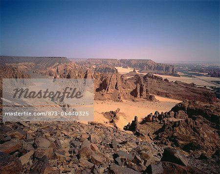 Rock Formations The Oasis of Al'Ula, Saudi Arabia Stock Photo - Rights-Managed, Image code: 873-06440325