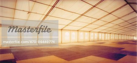 Interior of Big Tent Stock Photo - Rights-Managed, Image code: 873-06440774