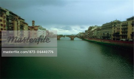 Arno River Florence, Italy Stock Photo - Rights-Managed, Image code: 873-06440776
