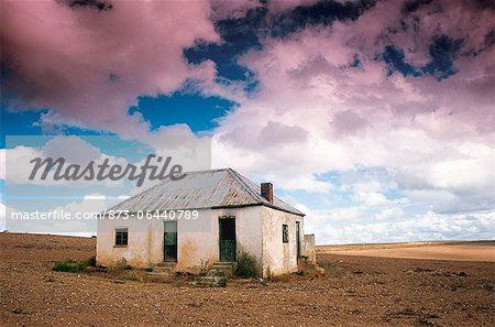 House in Desert Karoo, George, Western Cape South Africa Stock Photo - Rights-Managed, Image code: 873-06440789