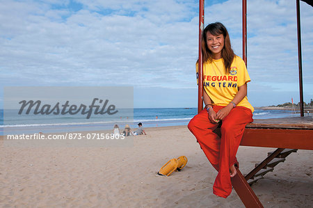 Young Lifesaver Stock Photo - Rights-Managed, Image code: 873-07156803