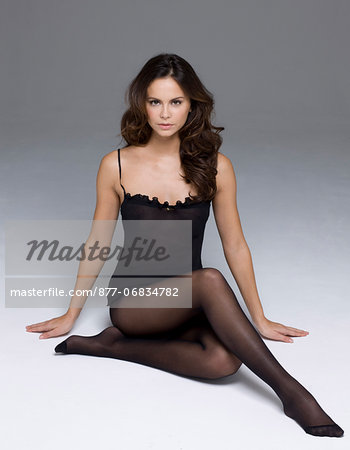Young woman in lingerie Stock Photo - Rights-Managed, Image code: 877-06834782