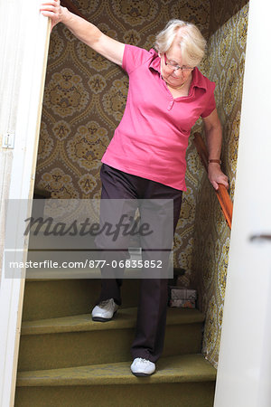 France, senior people at home. Stock Photo - Rights-Managed, Image code: 877-06835852