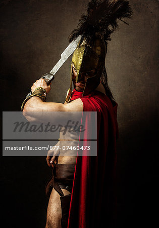 Heros of Sparte Stock Photo - Rights-Managed, Image code: 877-07460473