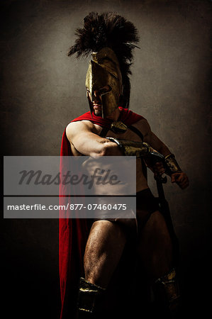 Heros of Sparte Stock Photo - Rights-Managed, Image code: 877-07460475