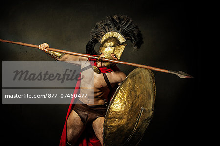 Heros of Sparte Stock Photo - Rights-Managed, Image code: 877-07460477