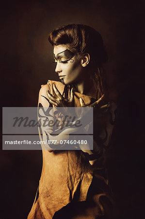 Shaman woman Stock Photo - Rights-Managed, Image code: 877-07460480