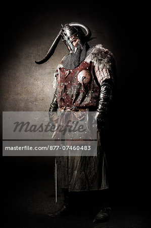 Viking in studio Stock Photo - Rights-Managed, Image code: 877-07460483