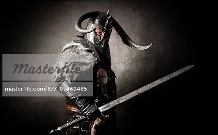 Viking in studio Stock Photo - Rights-Managed, Image code: 877-07460485