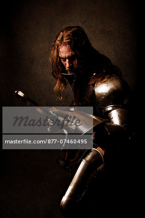 "Knight ""warning"" Stock Photo - Rights-Managed, Image code: 877-07460495"