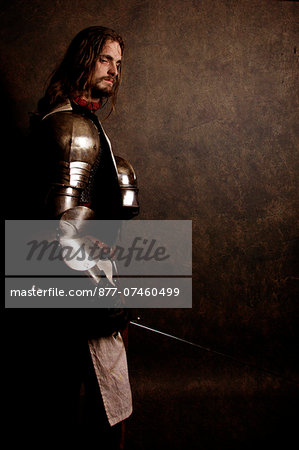 "Knight ""After the battle"" Stock Photo - Rights-Managed, Image code: 877-07460499"