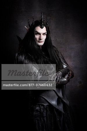 Dark Elf lord Stock Photo - Rights-Managed, Image code: 877-07460632