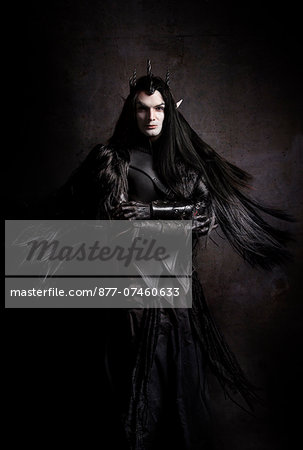 Elf Dark Lord Stock Photo - Rights-Managed, Image code: 877-07460633