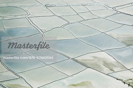 Salt ponds at Sangor Lagoon, Ghana Stock Photo - Rights-Managed, Image code: 878-07442564
