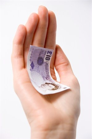 Handful Of Money Stock Photo - Budget Royalty-Free & Subscription, Code: 400-04048291