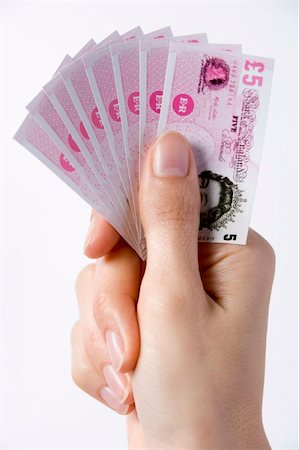 Fistful Of Money Stock Photo - Budget Royalty-Free & Subscription, Code: 400-04048292