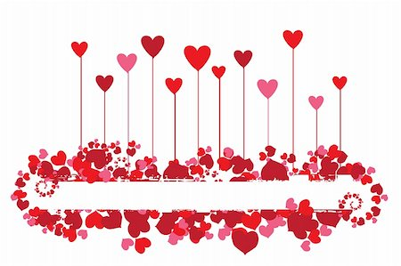 Valentine background for your design Stock Photo - Budget Royalty-Free & Subscription, Code: 400-04089416