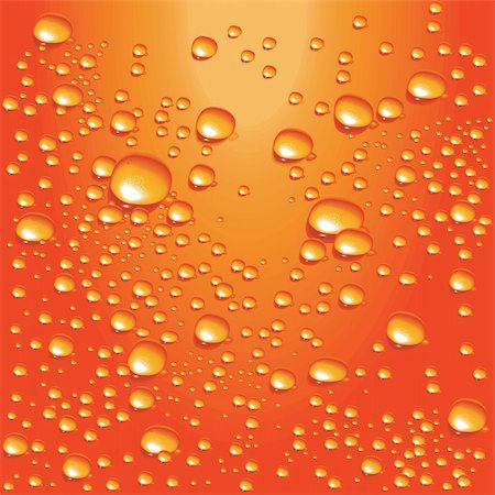 Detailed water bubbles on glass surface Stock Photo - Budget Royalty-Free & Subscription, Code: 400-04083275