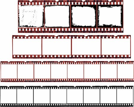 pokerman (artist) - Selection of Film Cells in vector format Stock Photo - Budget Royalty-Free & Subscription, Code: 400-04095442