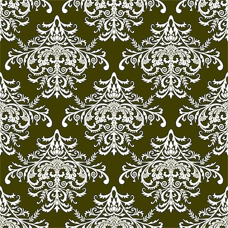 simsearch:400-04744132,k - Seamless floral pattern, full scalable vector graphic included Eps v8 and 300 dpi JPG and are very easy to edit. Stock Photo - Budget Royalty-Free & Subscription, Code: 400-04100044