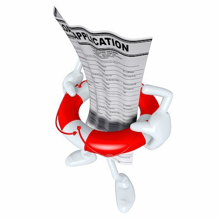 Emergency Rescue Life Preserver Concept And Presentation Figure In 3D Stock Photo - Budget Royalty-Free & Subscription, Code: 400-04115490