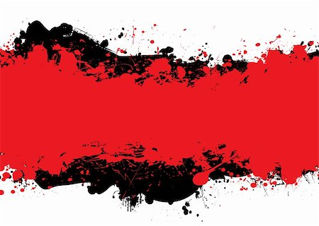 spilling blood texture - Red and black abstract background with room to add your own copy Stock Photo - Budget Royalty-Free & Subscription, Code: 400-04126600